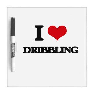 I love Dribbling Dry-Erase Board