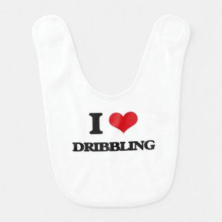 I love Dribbling Baby Bib