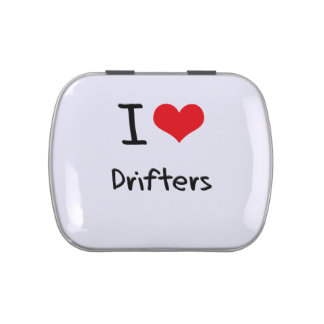 I Love Drifters Candy Tins