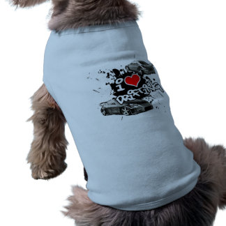 I Love Drifting JDM Dogs Top Dog Clothes