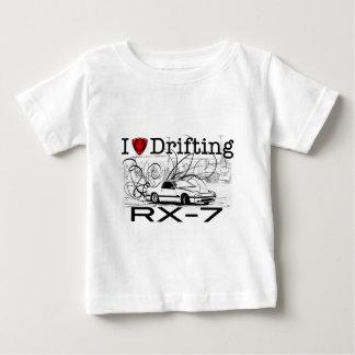 I love drifting RX-7 Baby T-Shirt