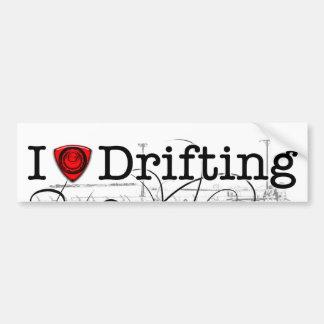I love drifting RX-7 Car Bumper Sticker