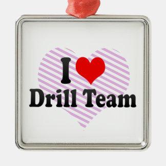 I love Drill Team Christmas Tree Ornament