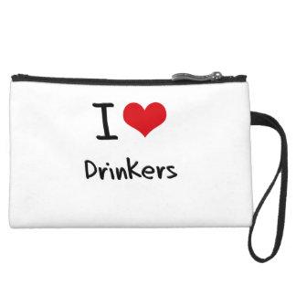 I Love Drinkers Wristlets