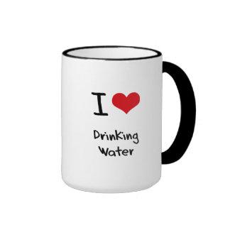 I Love Drinking Water Coffee Mugs
