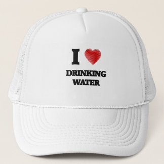 I love Drinking Water Trucker Hat