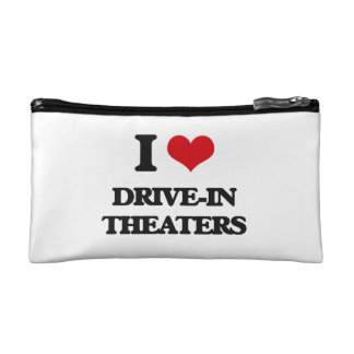 I love Drive-In Theaters Makeup Bag