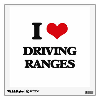I love Driving Ranges Wall Stickers