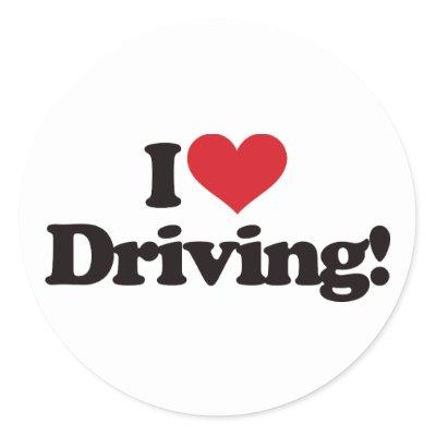 I love  Driving