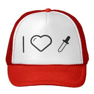 I Love Dropper Cleaners Trucker Hat