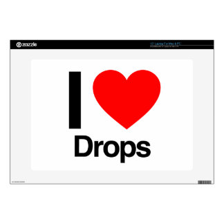 i love drops laptop skin