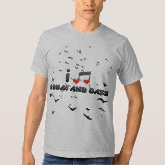 I Love Drum And Bass Tee Shirt