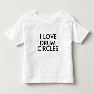 i love drum circles toddler t-shirt