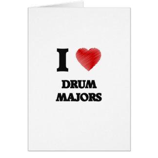 I love Drum Majors Card