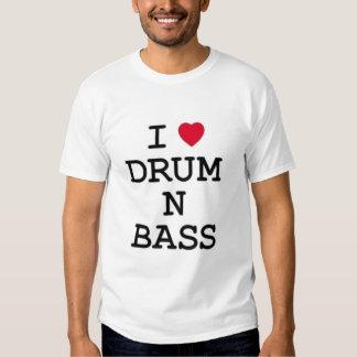 i love drum n bass t-shirt