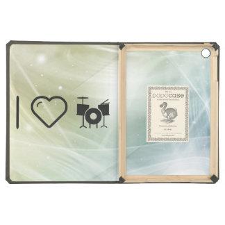 I Love Drummer Sets iPad Air Case