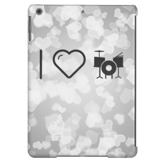 I Love Drummer Sets Case For iPad Air