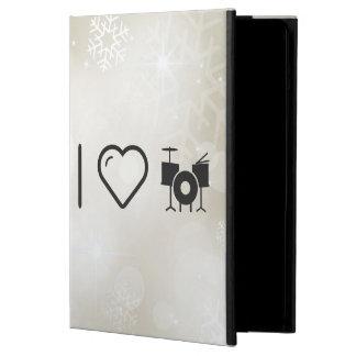 I Love Drummer Sets iPad Air Cases