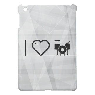 I Love Drummer Sets Case For The iPad Mini