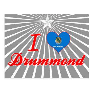 I Love Drummond, Oklahoma Post Cards