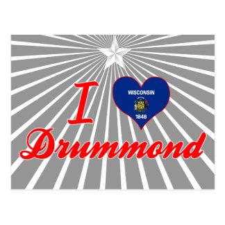 I Love Drummond, Wisconsin Postcards