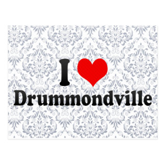 I Love Drummondville, Canada Postcard