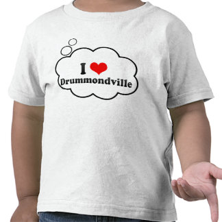 I Love Drummondville, Canada Shirt