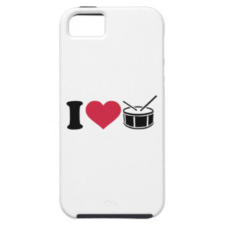 I love drums iPhone SE/5/5s case