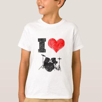 I Love Drums T-Shirt