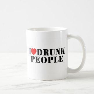 I Love Drunk People Coffee Mug