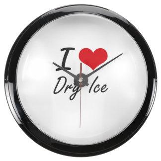 I love Dry Ice Aqua Clocks