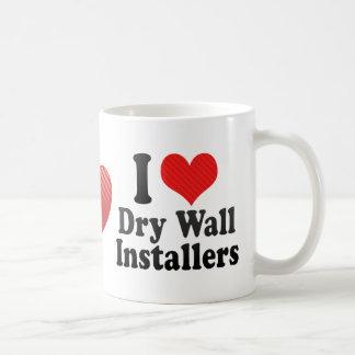 I Love Dry Wall Installers Coffee Mug