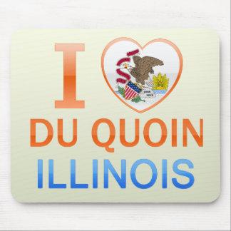 I Love Du Quoin, IL Alfombrilla De Ratones