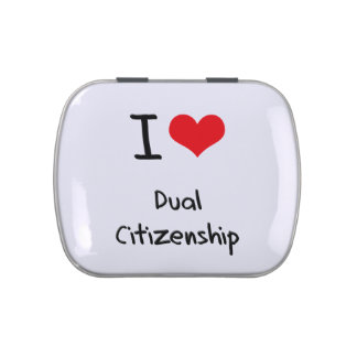 I Love Dual Citizenship Jelly Belly Candy Tin