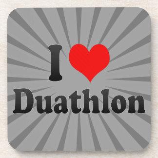 I love Duathlon Coasters