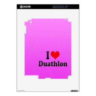 I love Duathlon Skin For The iPad 2