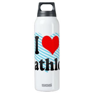 I love Duathlons 16 Oz Insulated SIGG Thermos Water Bottle