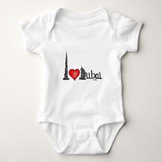 I love Dubai Baby Bodysuit
