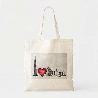 I love Dubai Budget Tote Bag