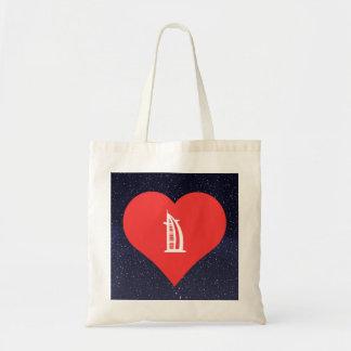 I Love Dubai Cool Symbol Budget Tote Bag