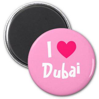 I Love Dubai Refrigerator Magnets