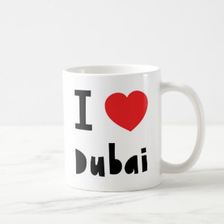 I love Dubai Classic White Coffee Mug