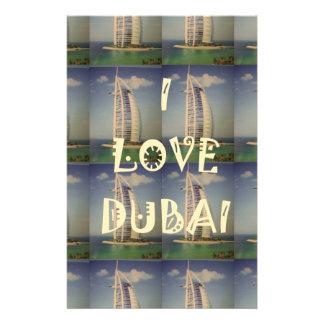 I Love Dubai Stationery