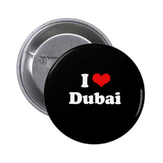 I Love Dubai Tshirt Pins