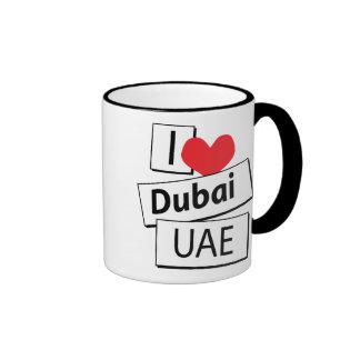 I Love Dubai UAE Mug