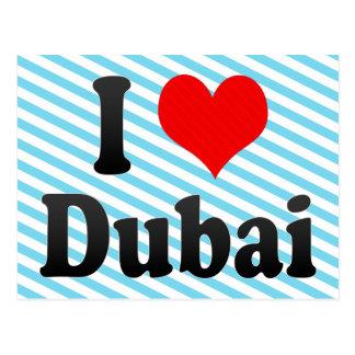 I Love Dubai, United Arab Emirates Postcard