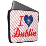 I Love Dublin, New Hampshire Computer Sleeve