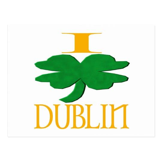 I Love Dublin Postcard