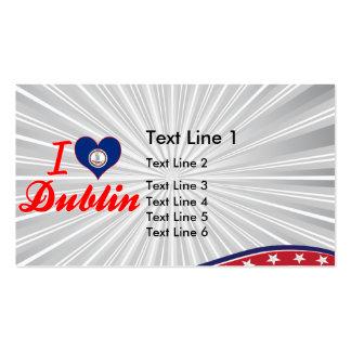 I Love Dublin, Virginia Business Card