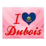 I Love Dubois, Idaho Postcard